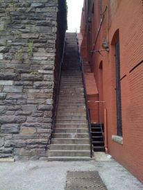 DC Exorcist stairs