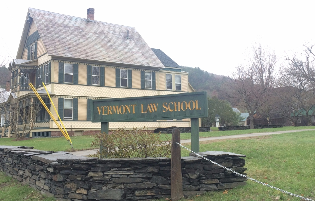 Vermont Law School, April 22, 2017.