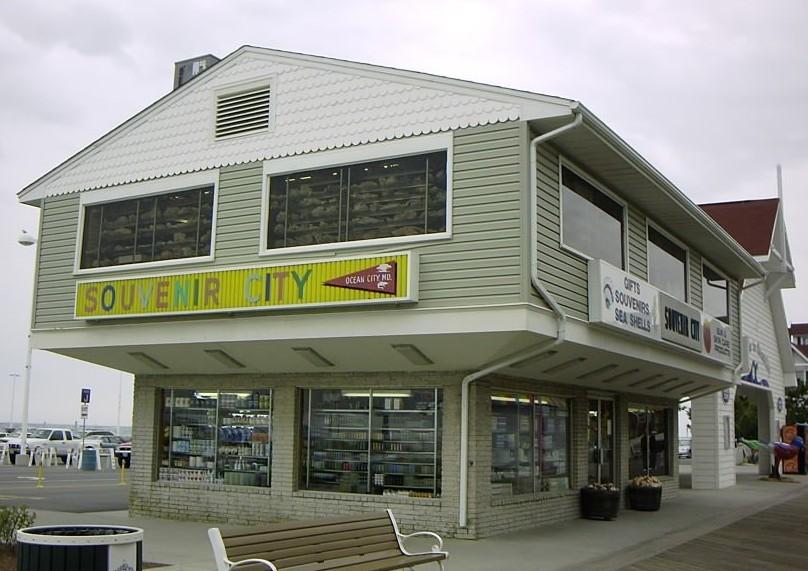 MD old souvenir shop