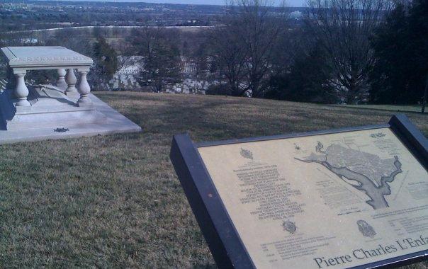 VA Arlington cemetery lenfant